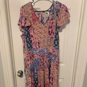 Matilda jane women's maxi dress